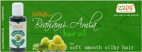 Ayurvedic Panchgavya Brahmi Amla Hair Oil
