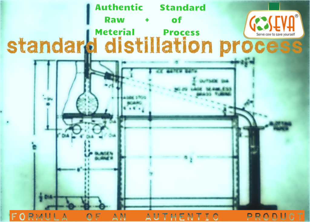 Distilled Cow Urine - standards of Process
