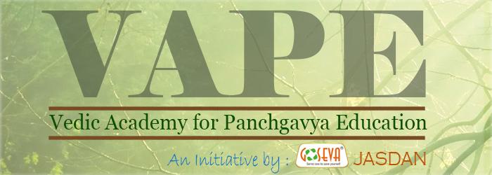 GOSEVA-Vadic Academy Panchagavya Education -Vape